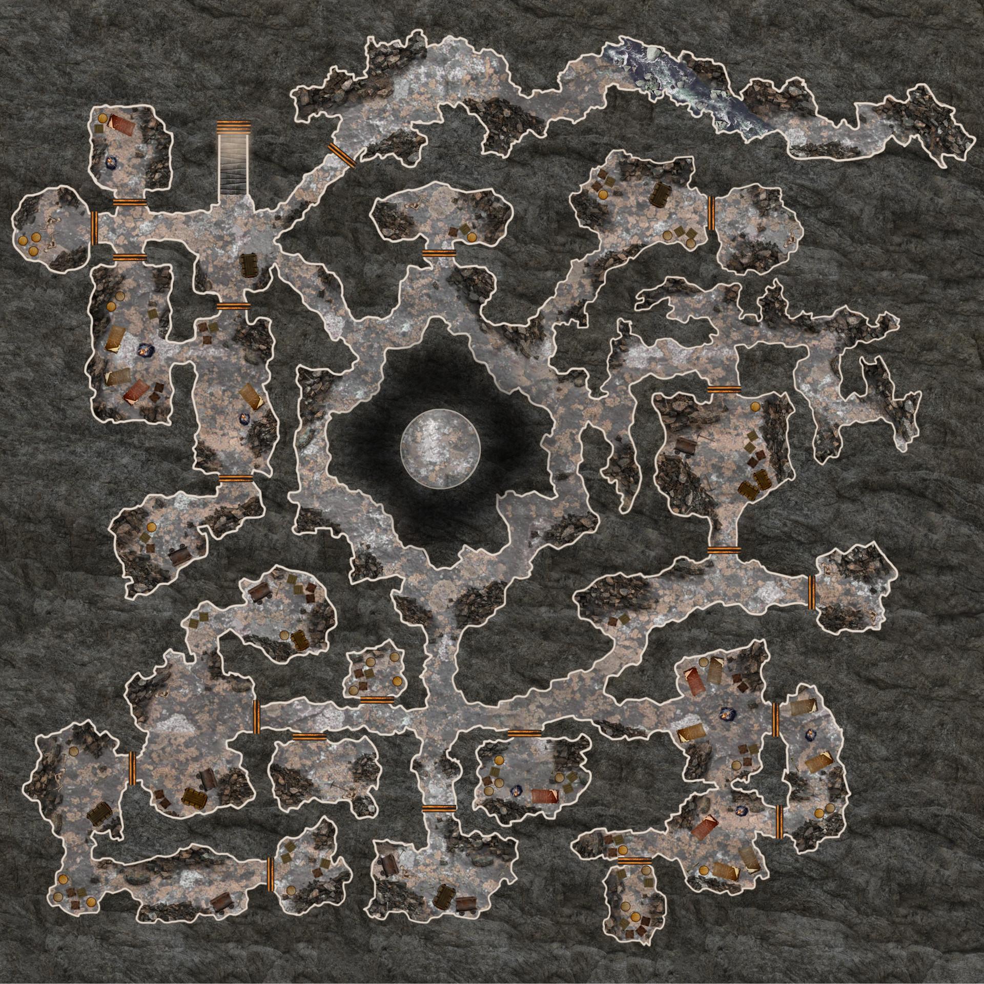 ArtStation - D&D Maps, Everett Coe