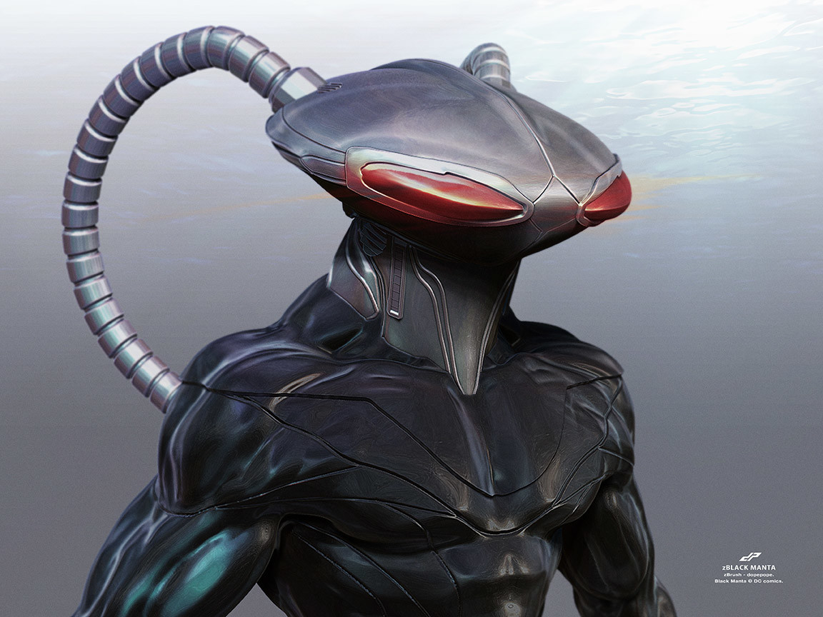 Dope pope zblack manta by dopepope