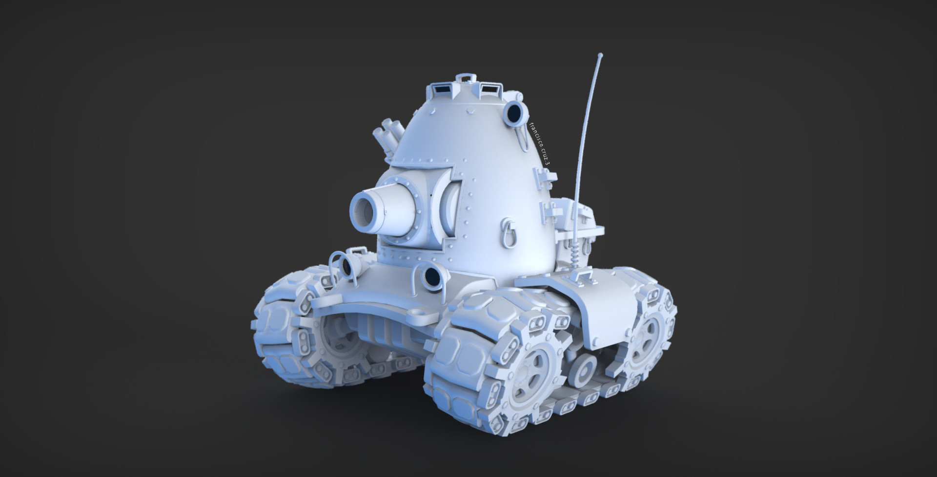 Francisco cruz m3gg tank 01