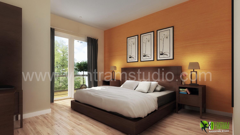 ArtStation   Beautiful 3D Classic Interior Design Rendering For .
