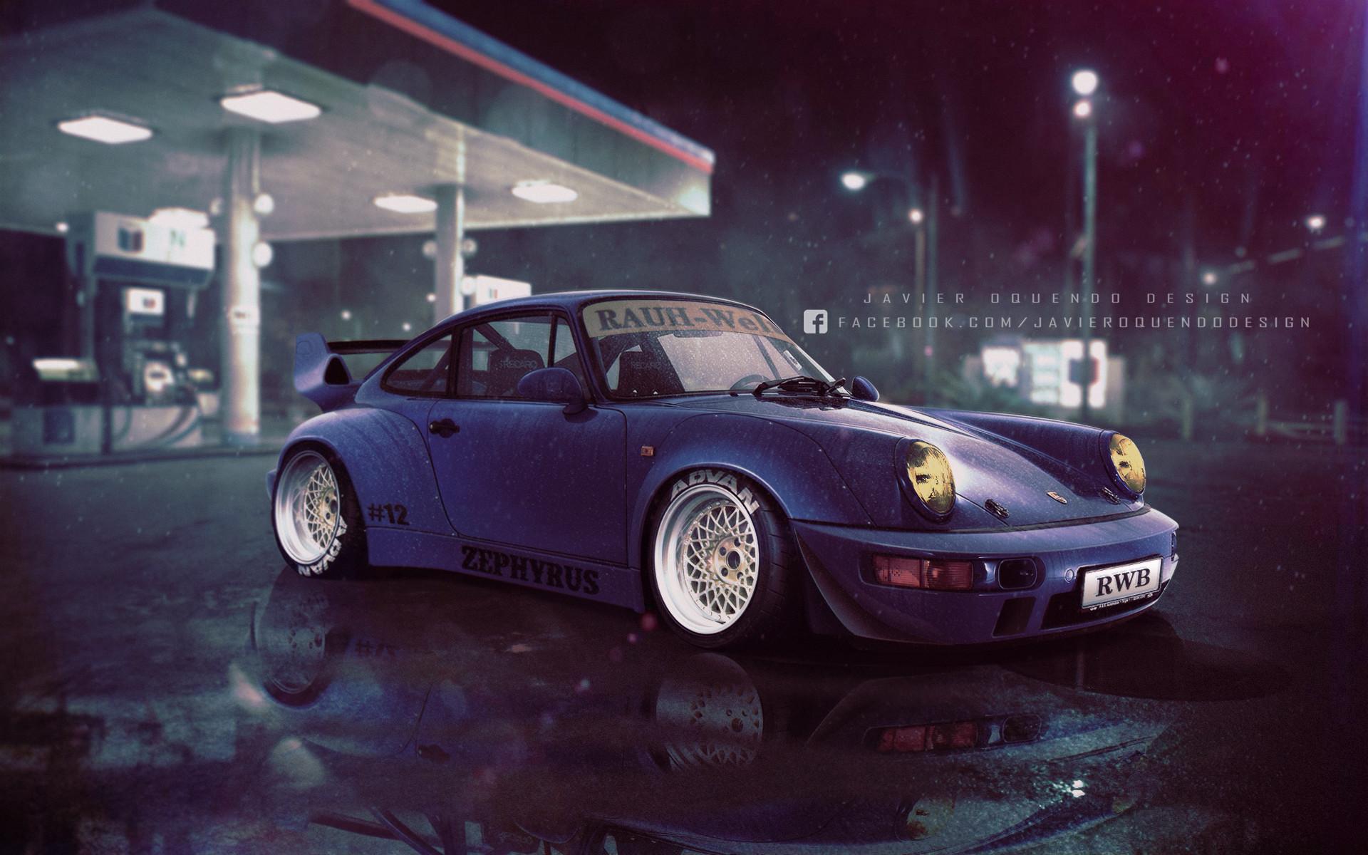 Targa Rwb Walpaper: RWB Porsche 911, Javier Oquendo