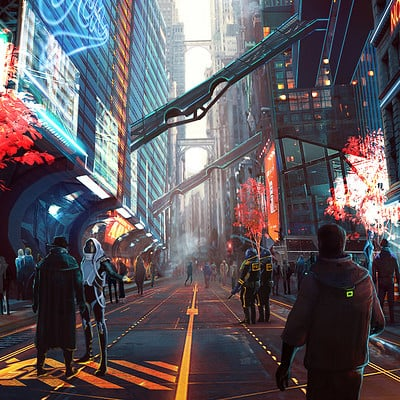 Evozon game studio city alley
