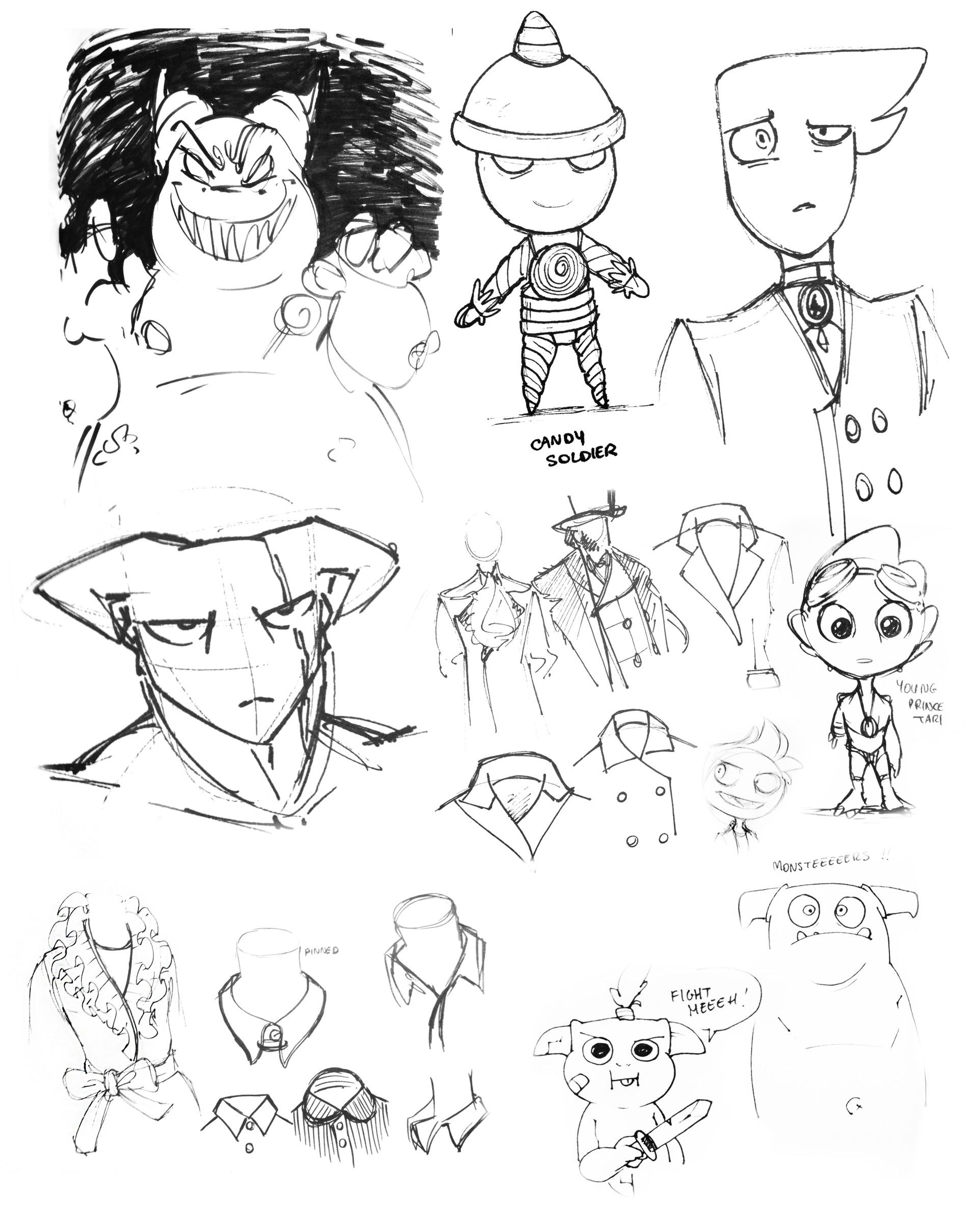 Marie razny doodle sheet