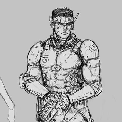 Salvador trakal sketch147