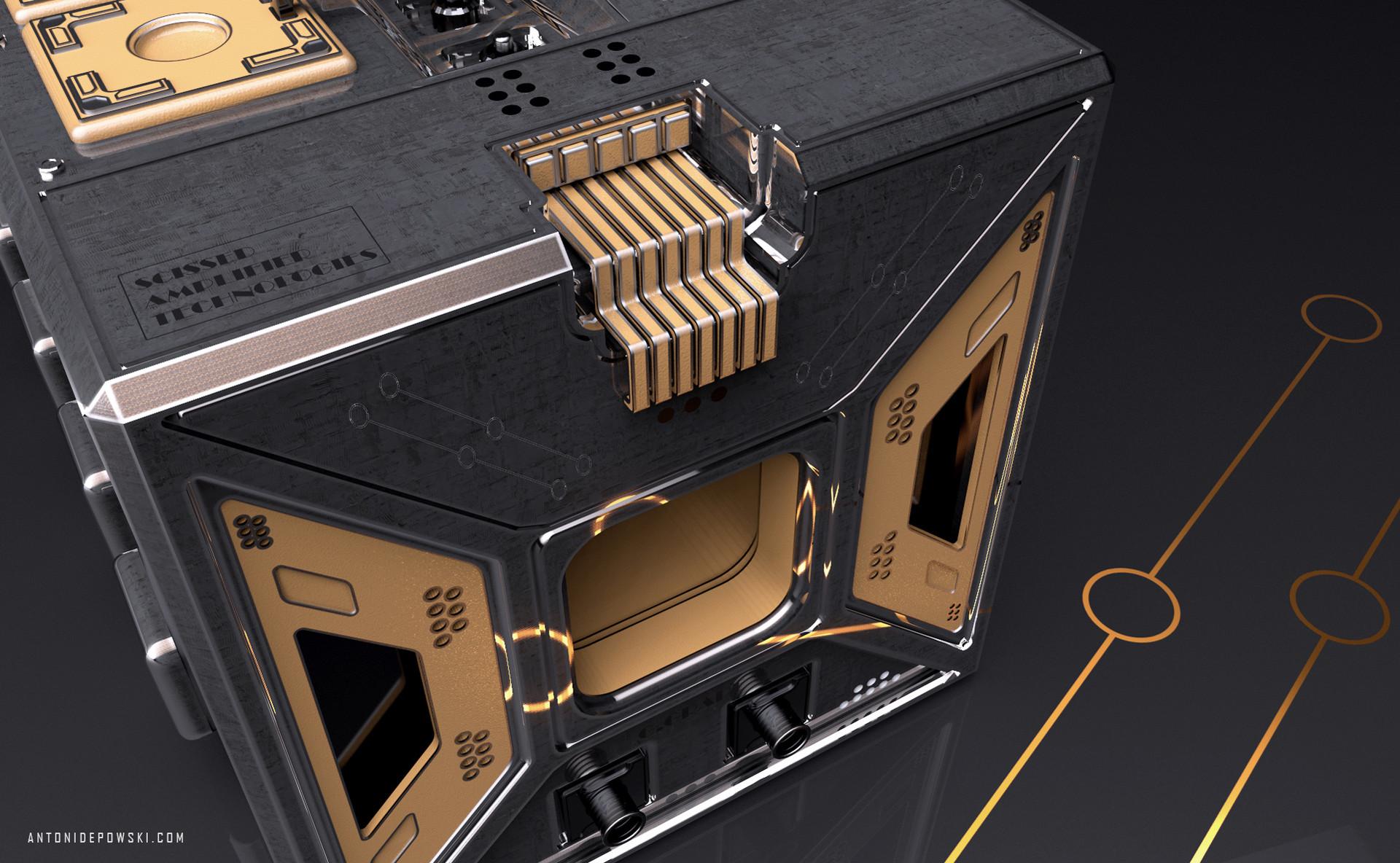 Antoni depowski amplifier 4c