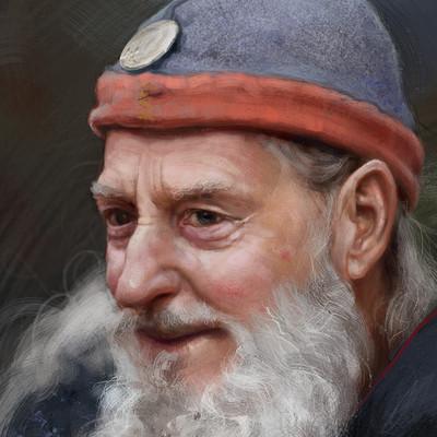 Sergey vasnev old man study