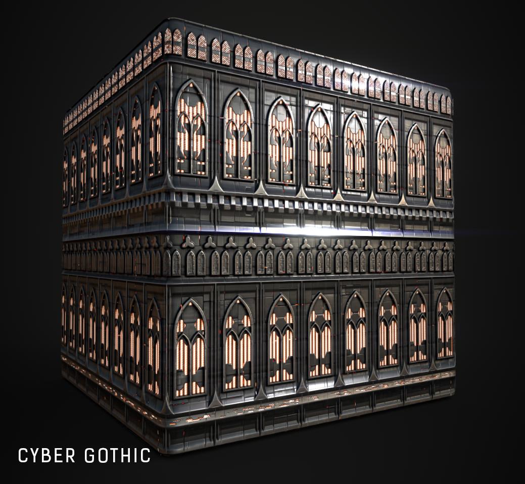 Gothic cyber Cybergoth Clothing