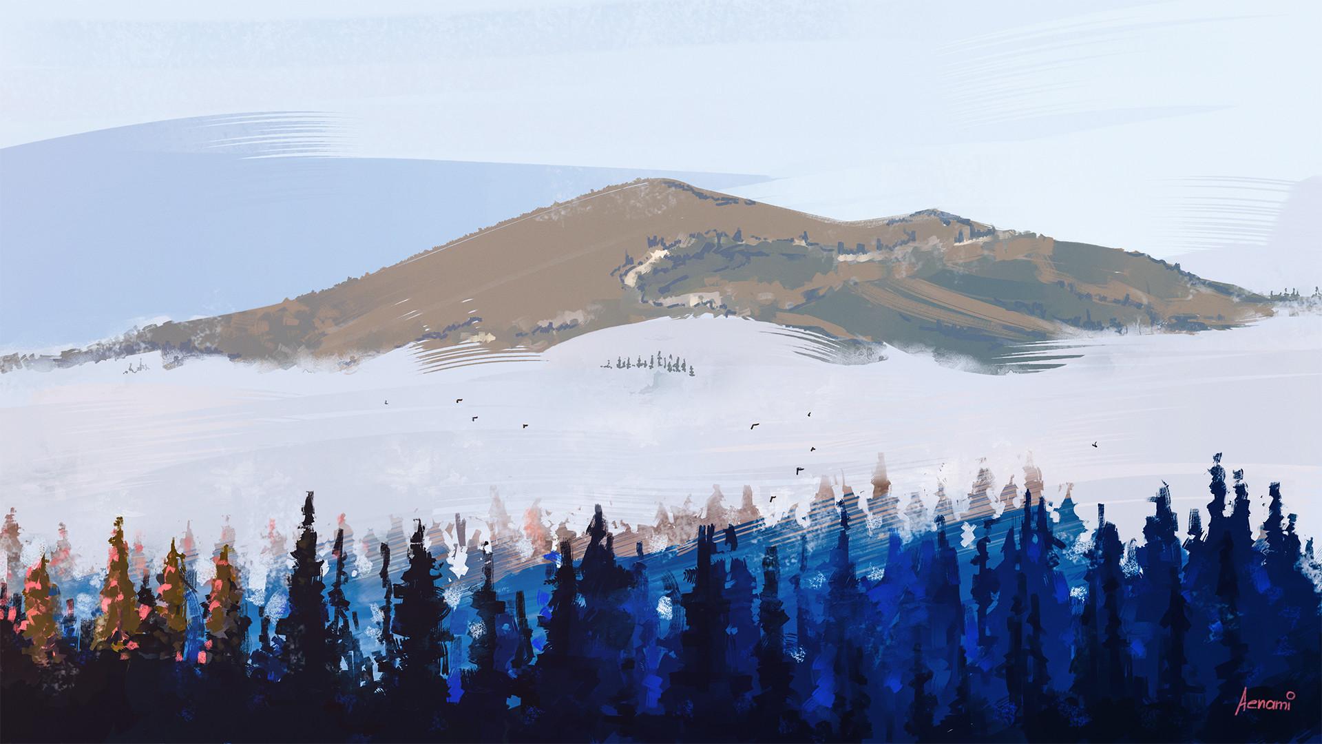 Alena aenami mountains