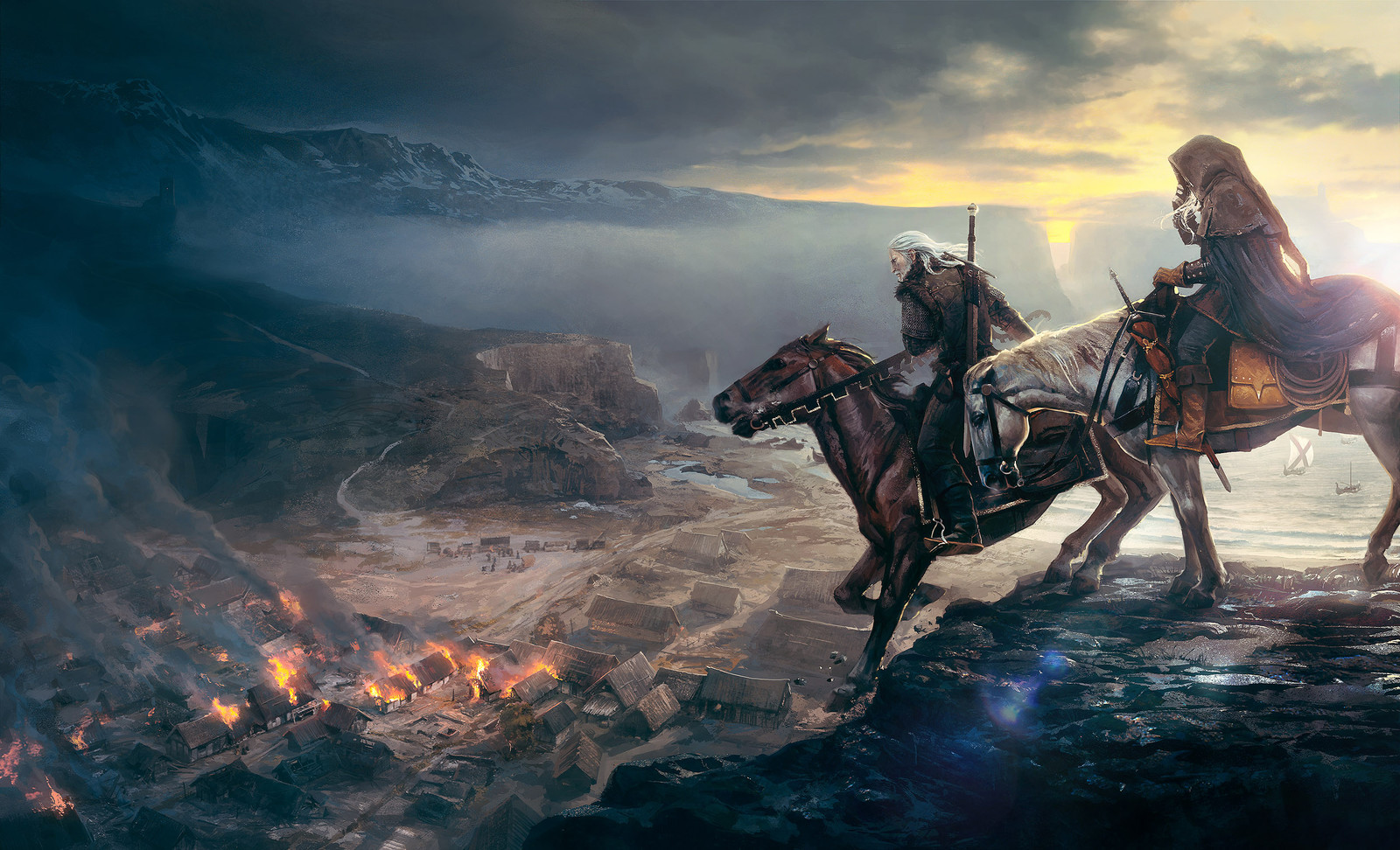 Gameinformer covers- The Witcher Wild Hunt