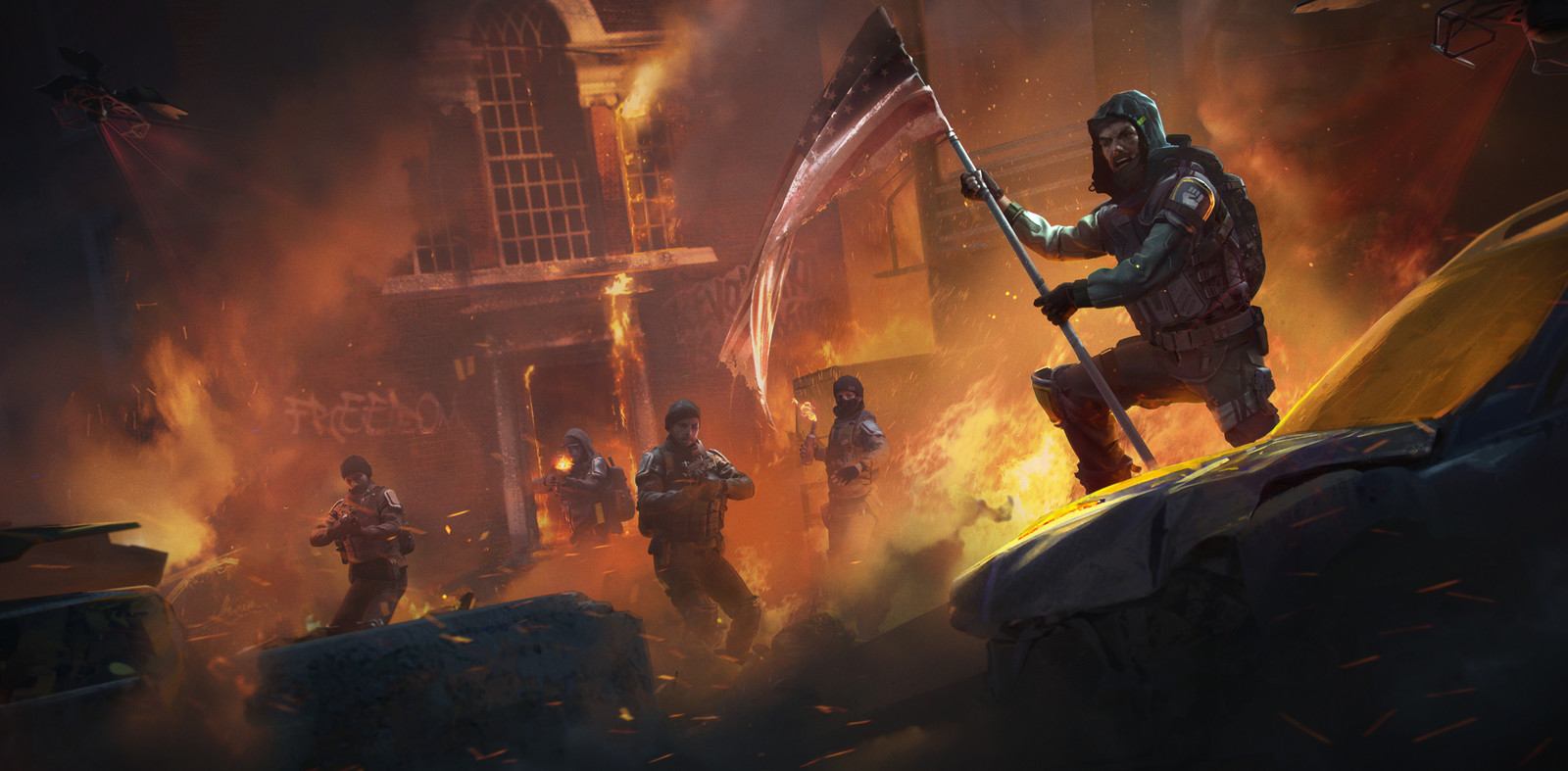 Homefront The Revolution Freedom Fighters