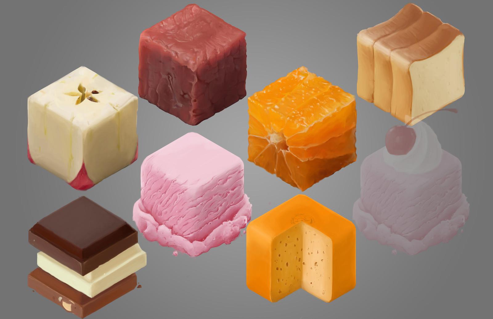 Material Study (food)