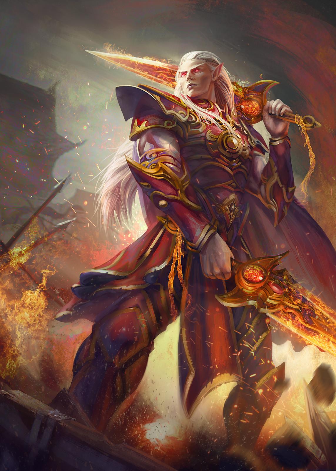 Heroes of Amarii / Velian Falleaf