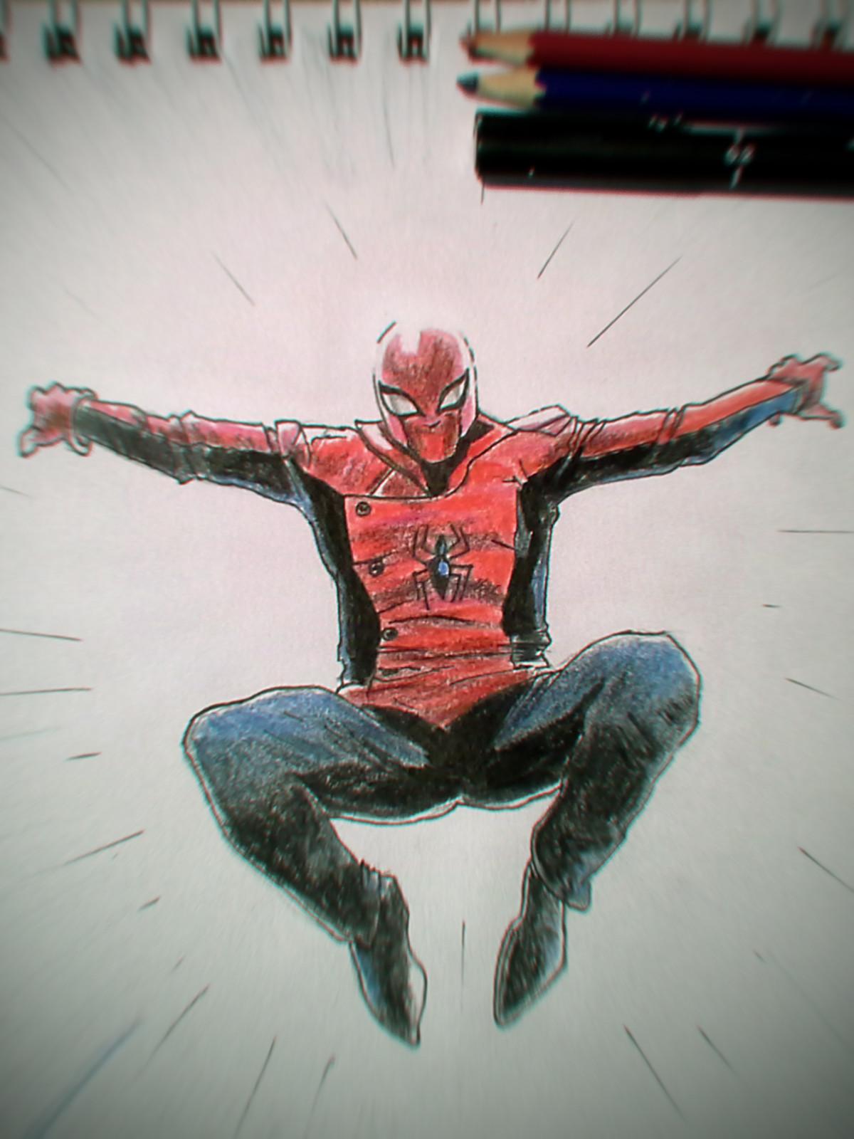 Martin jario martinjario spiderman last stand marvel