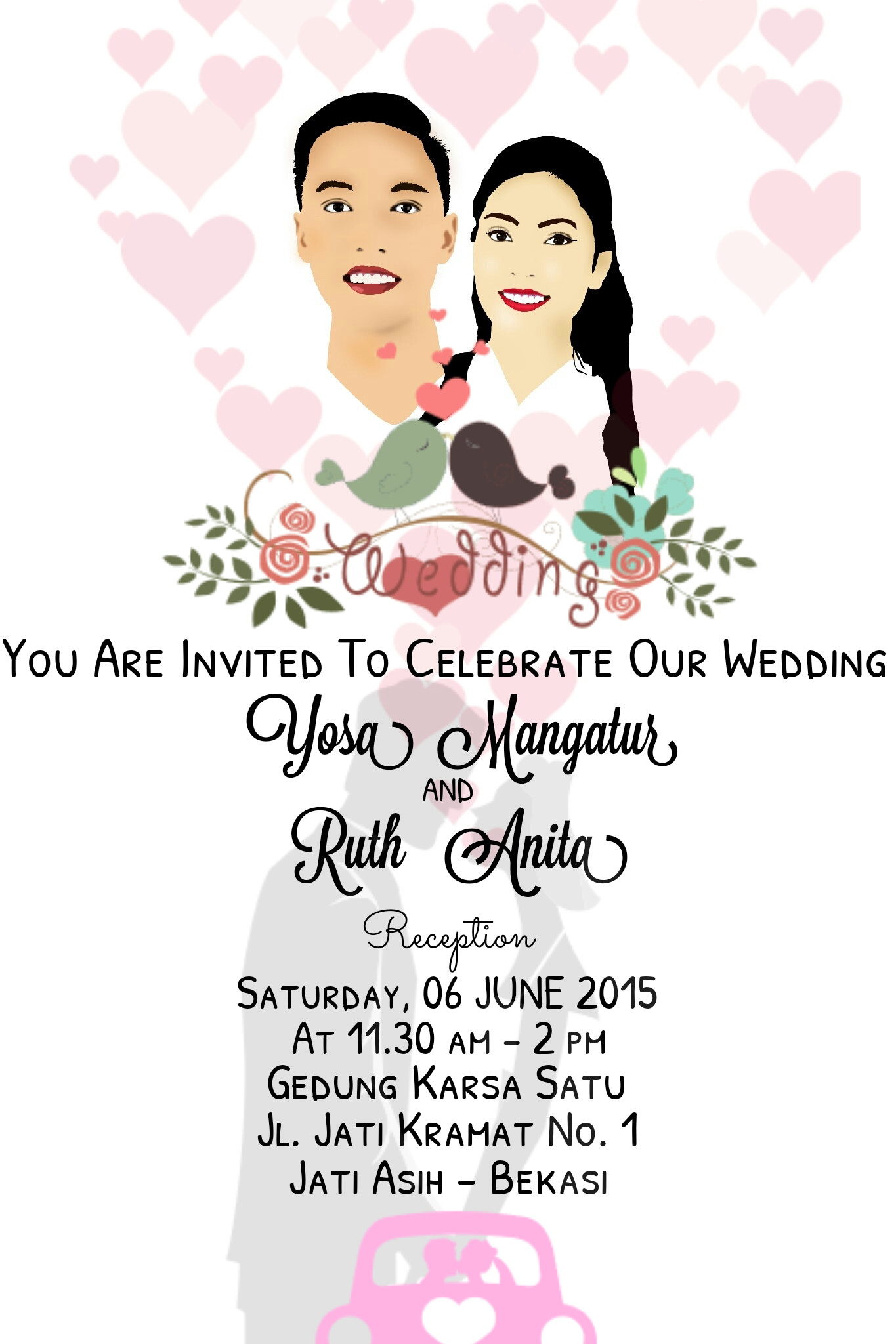ArtStation - Wedding e-invitation, Winda Purba