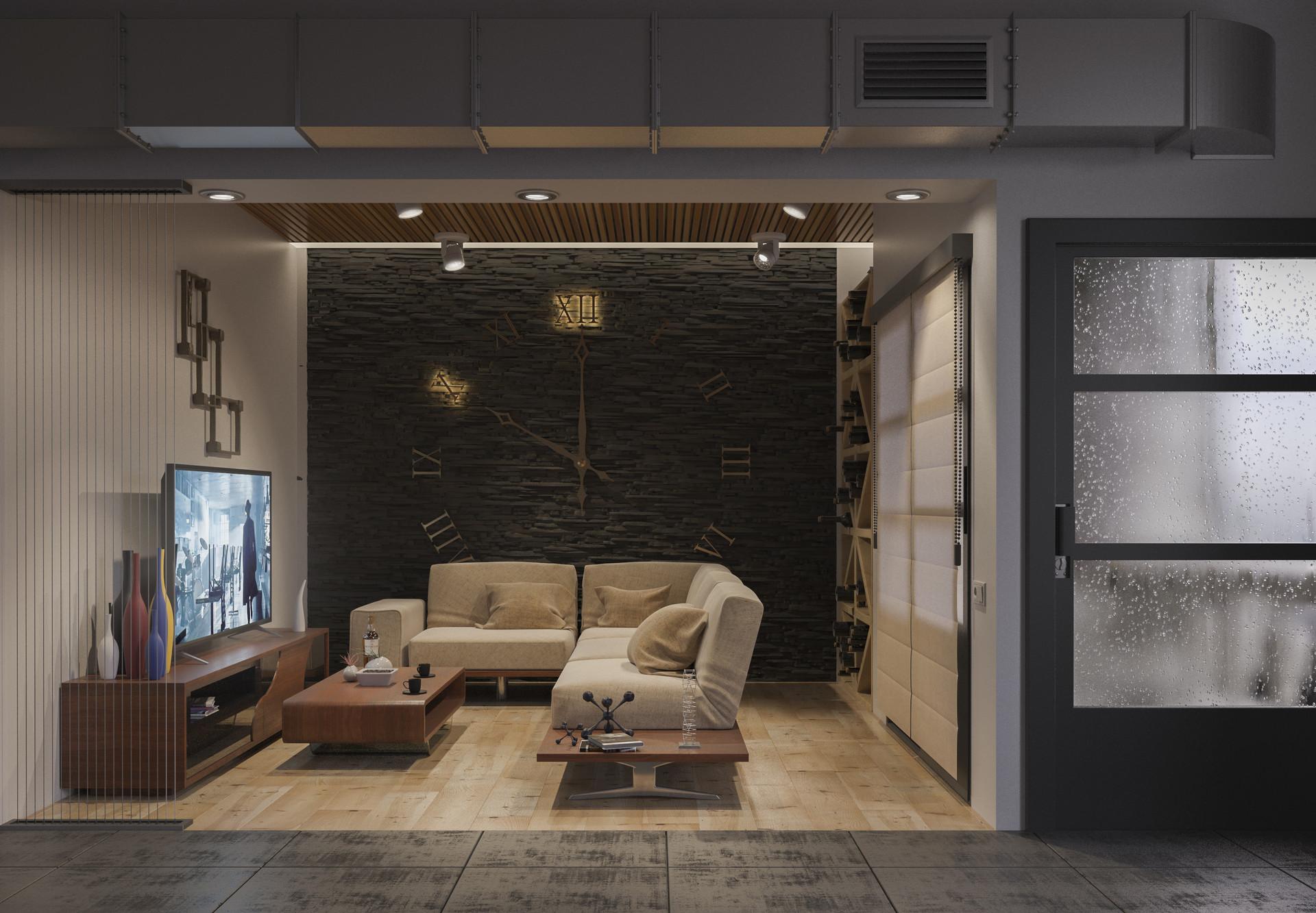 Gor arakelyan living room overcast 2