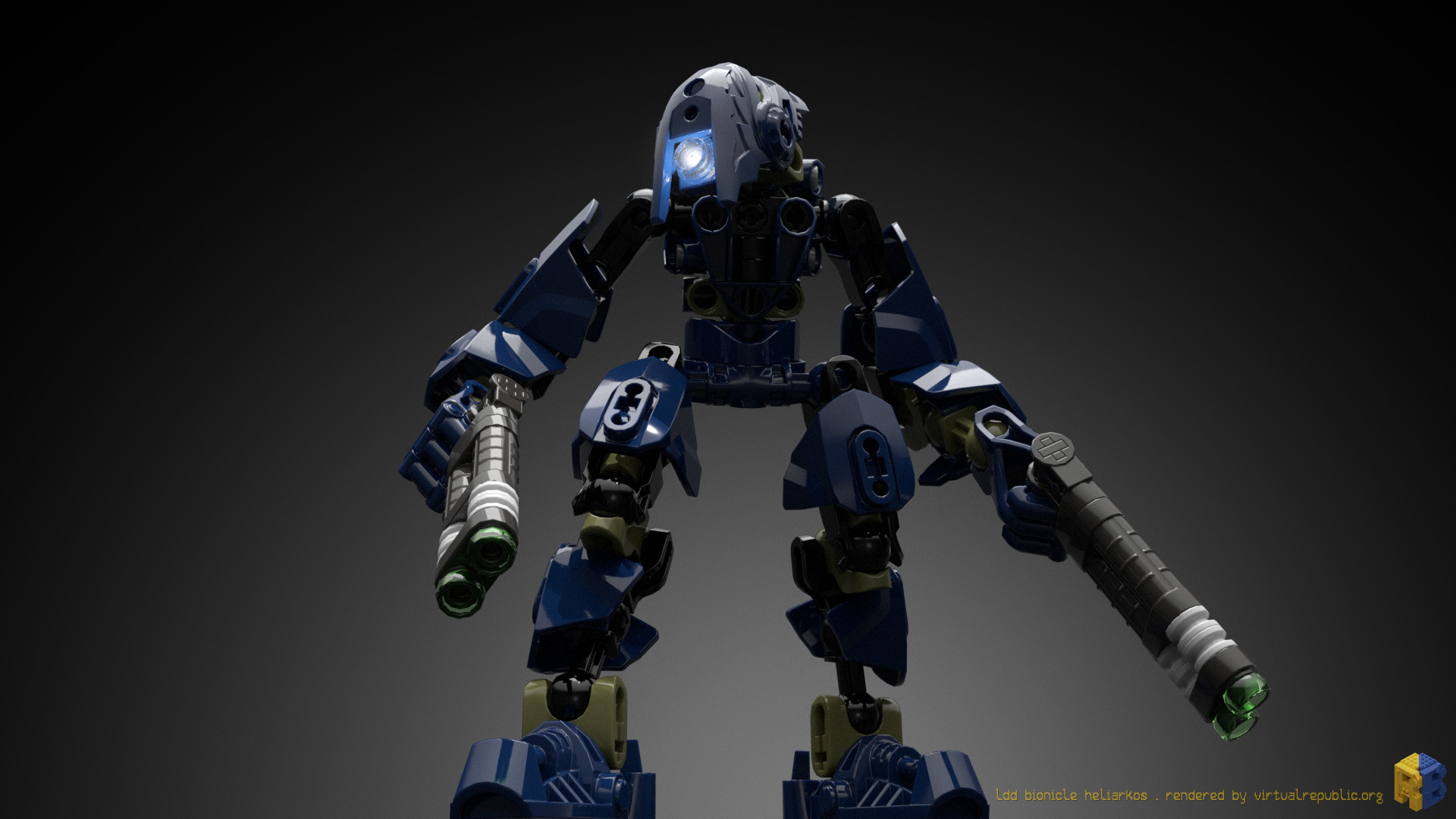 Renderbricks ® - LEGO® LDD Bionicle