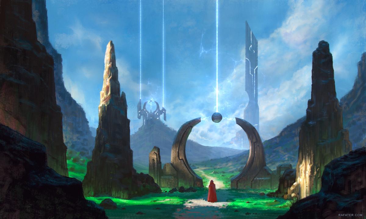 Rafael teruel landscape scifi rafater rafael teruel