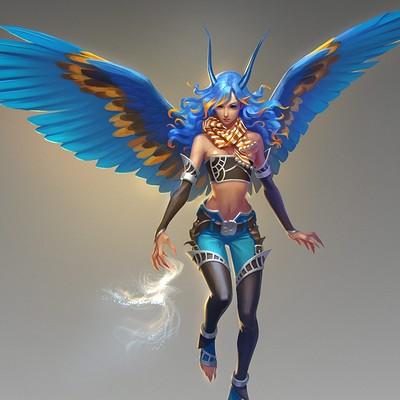 Tatiana kirgetova bluebird