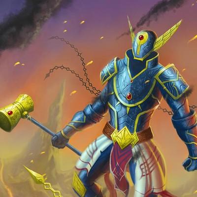 Renan moraes armor god 72