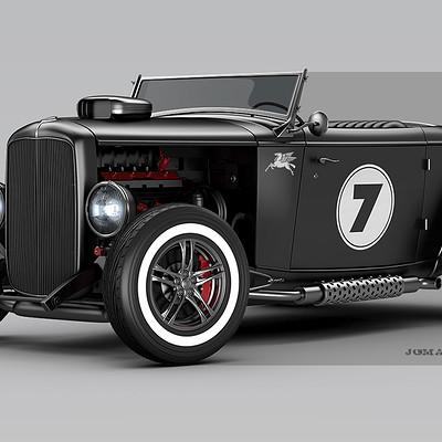 Jomar machado ford roadster peq