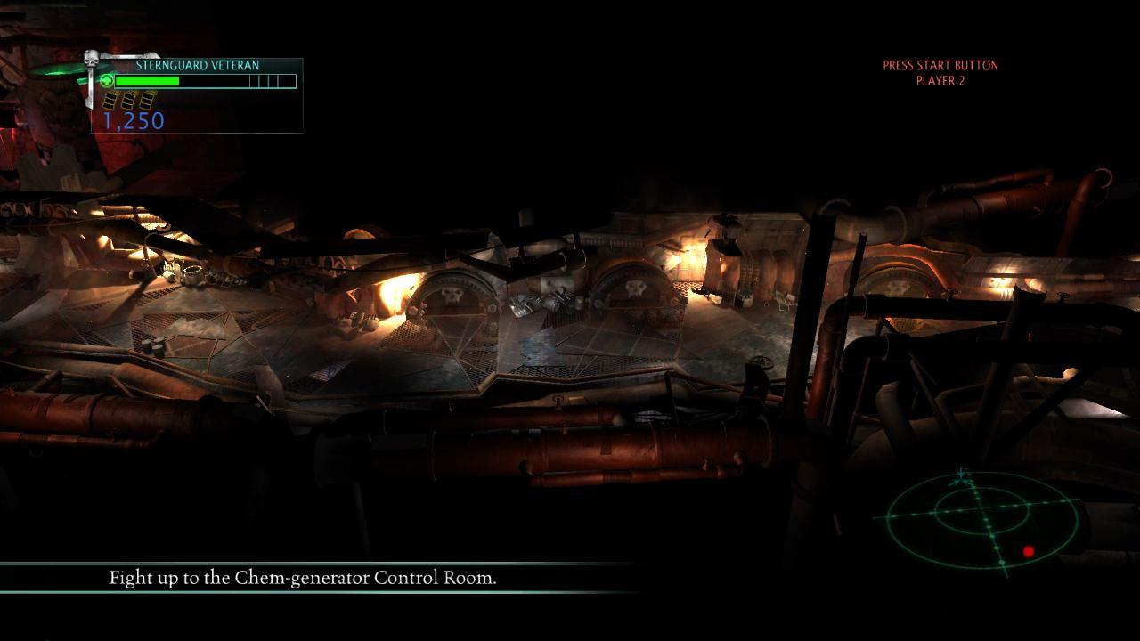 Tileable Ork corridor- in game screenshot
