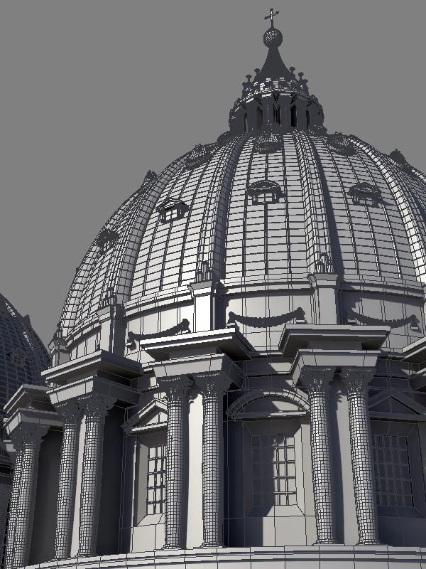 Basilica - Wireframe