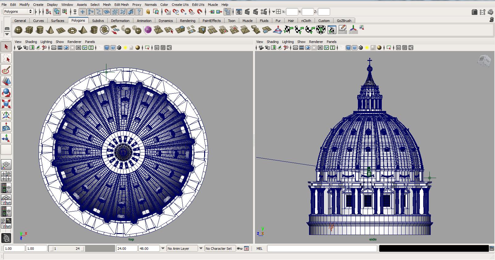 Basilica - Maya Screenshot