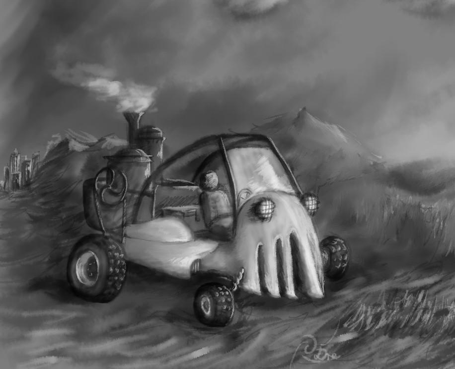 Gabor drescher steambuggy