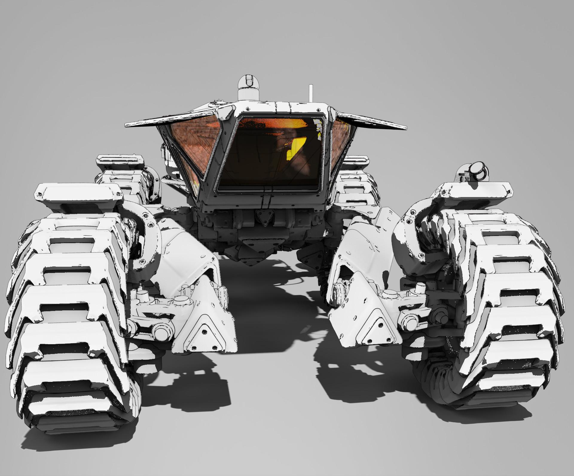 Roberto robert mars buggy kitbash 58