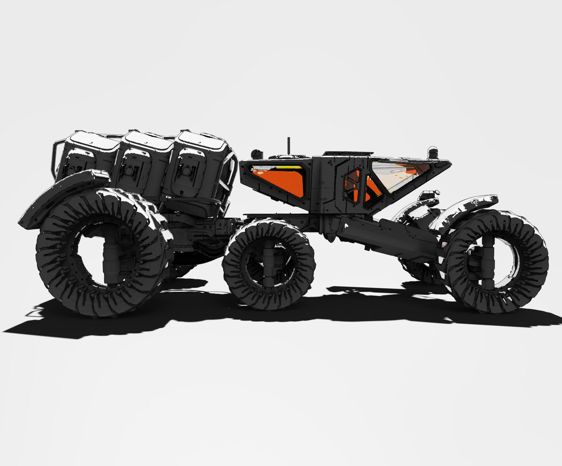 Roberto robert mars buggy kitbash 59
