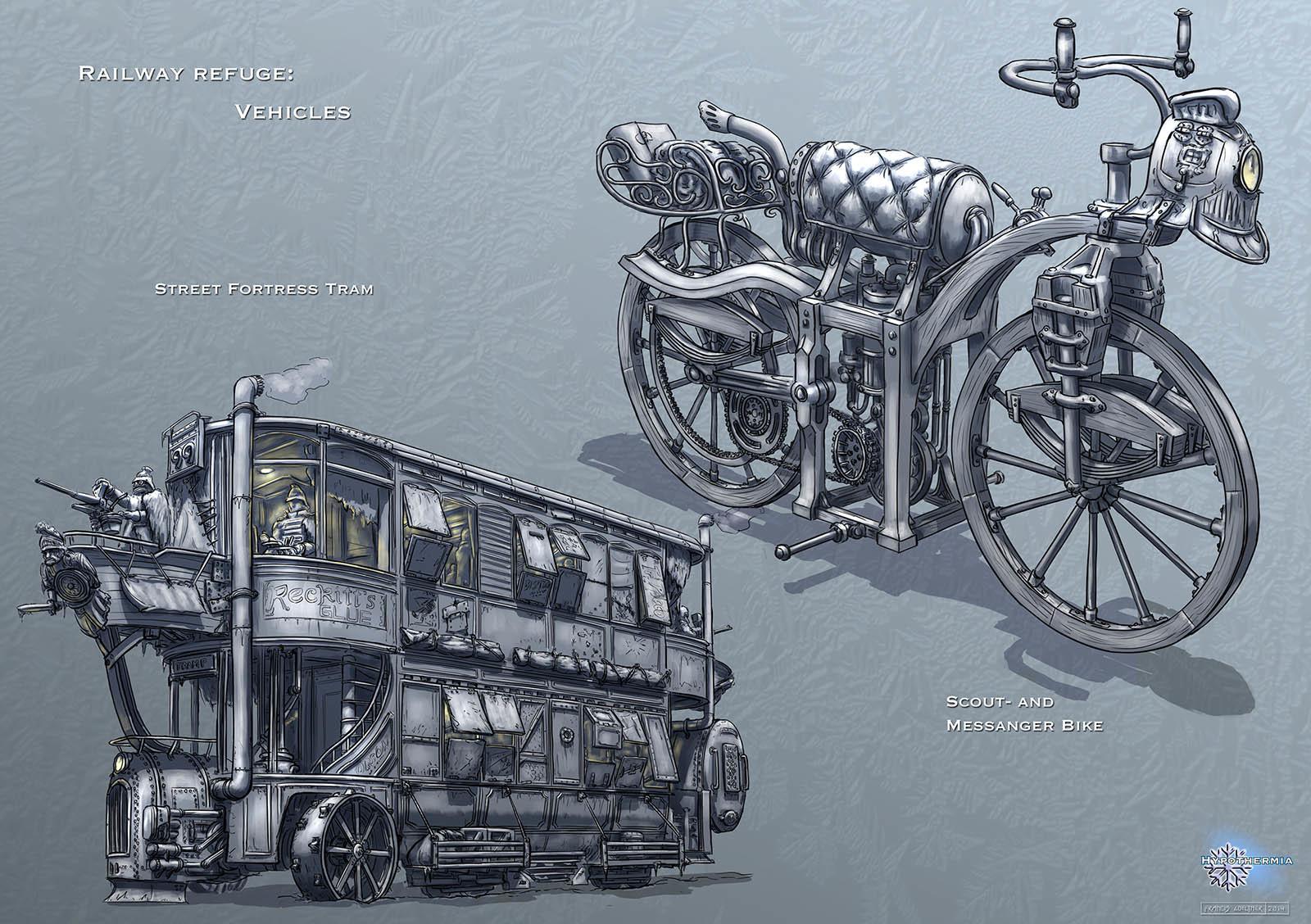 Railway Refuge – Vehicles