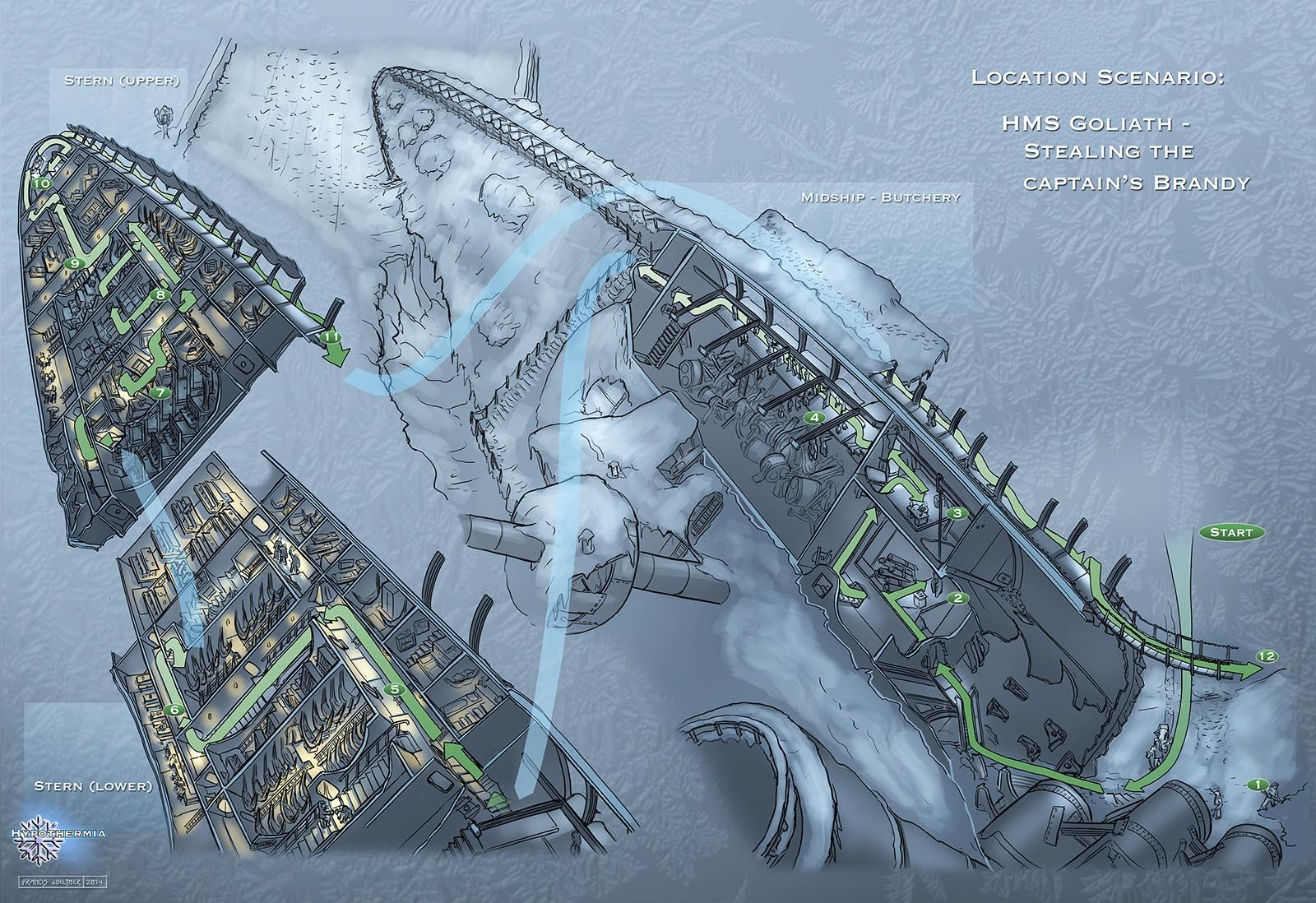 Francis goeltner francisgoeltner hypothermia 10 gameplay01 s