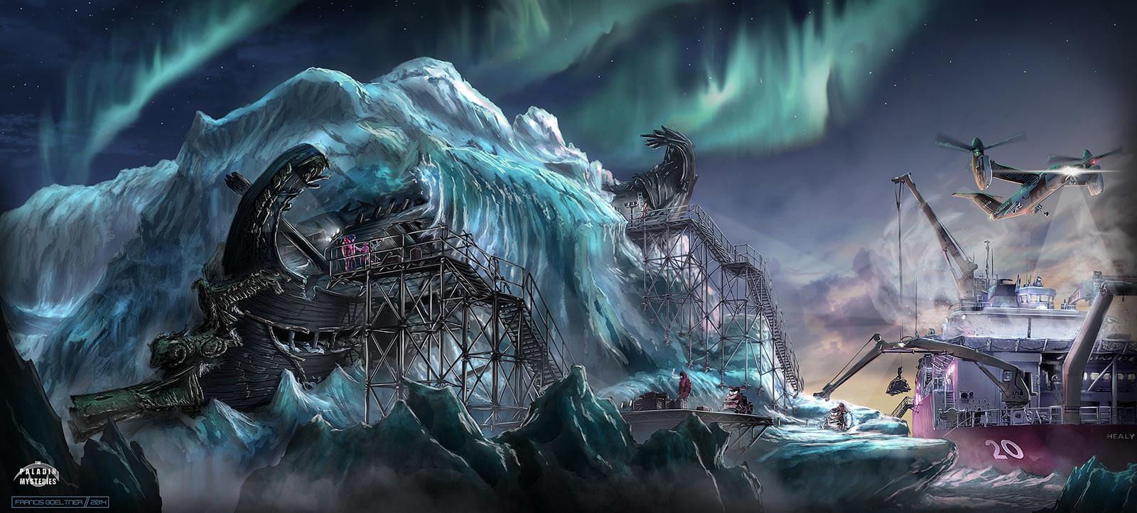 Davis Strait - Frozen Warship