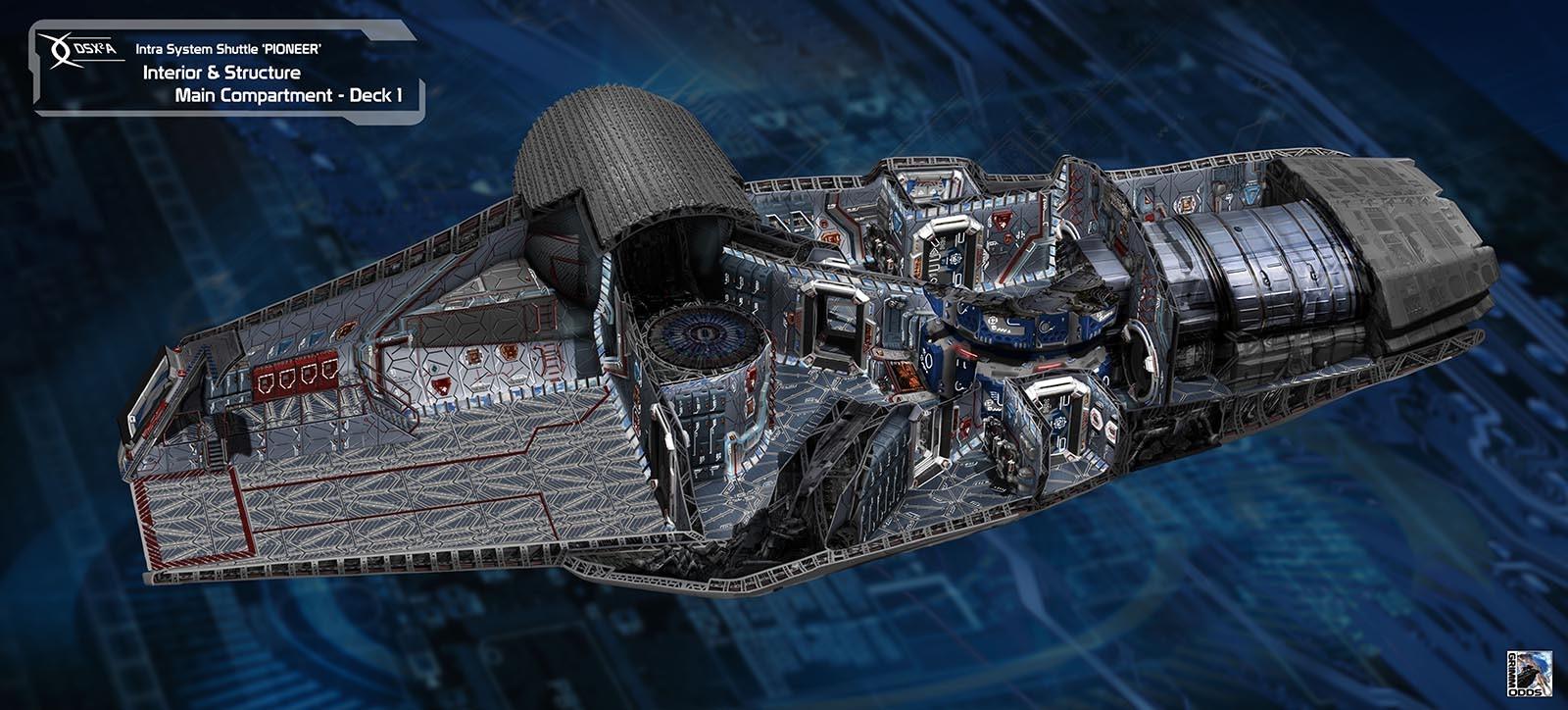 Grimm Odds - Shuttle Interior - Main