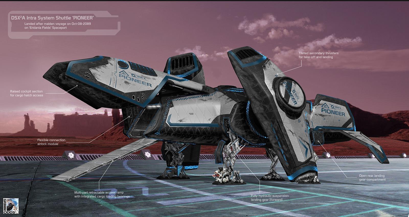 Grimm Odds - Shuttle Landed