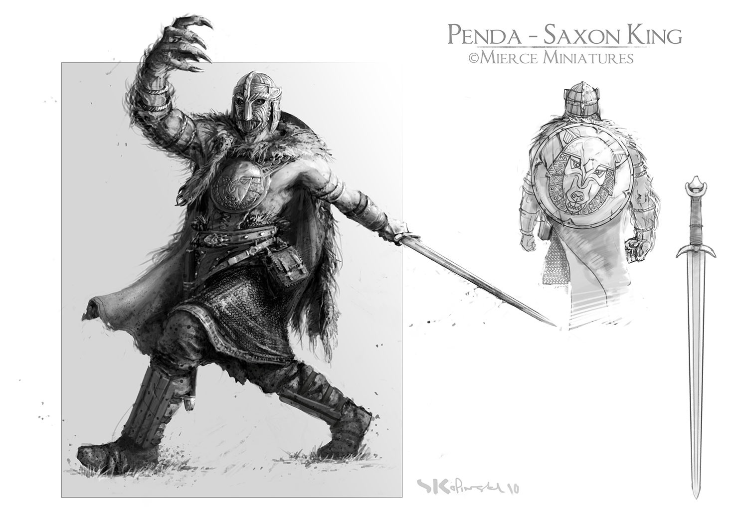 Penda - Warrior King of Mierce
