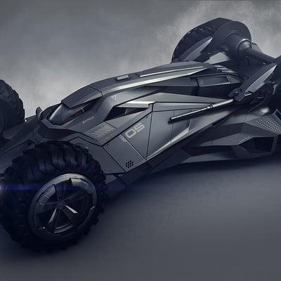 Encho enchev batmobile concept5