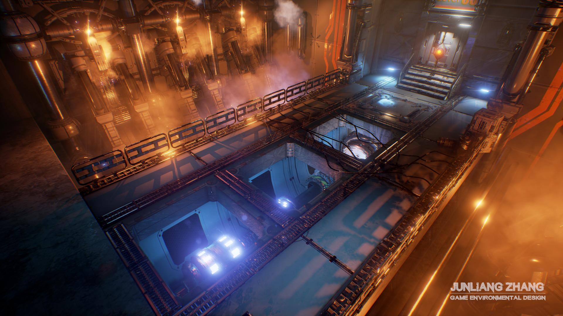 Junliang zhang sci fi core 2