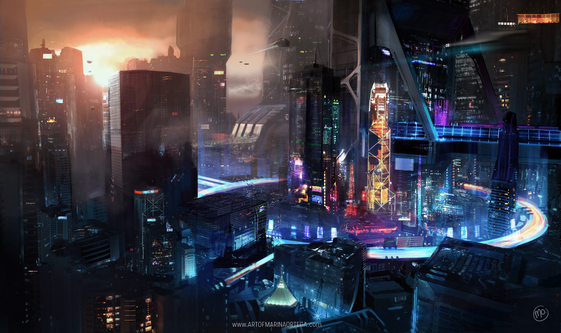 Cyberpunk Views