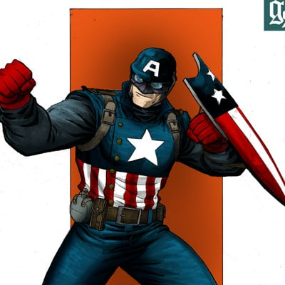 Gabriel sansigolo 1379580 wwii ultimate captain america by reillybrown copy