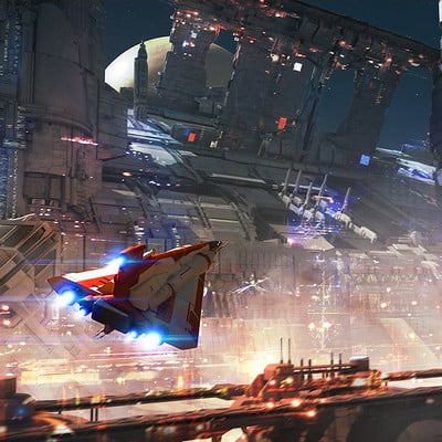 Isaac hannaford space dock v001