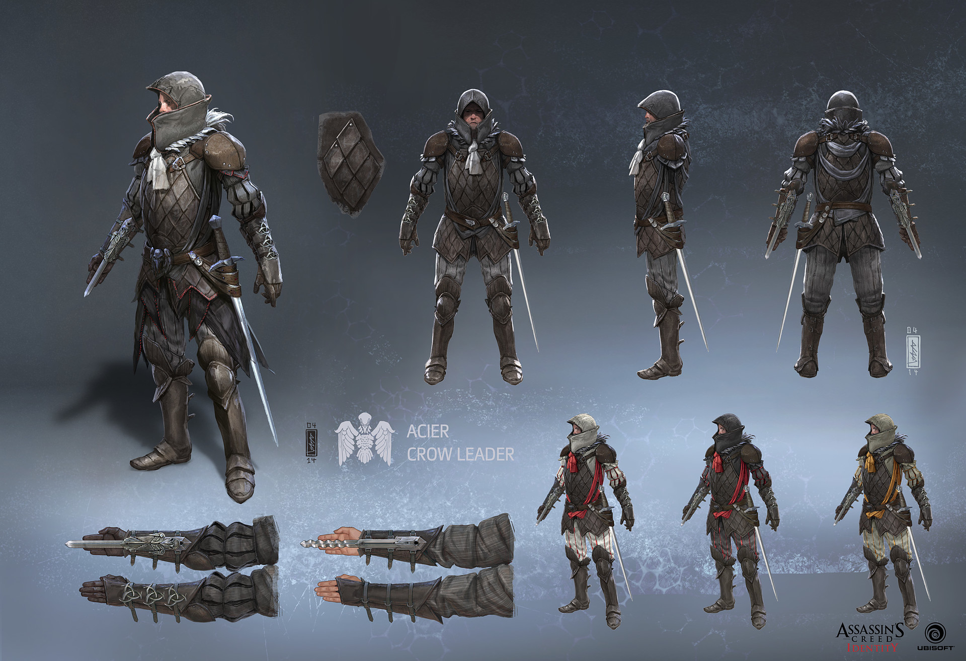 Artstation Assassins Creed Identity Characters Andi Drude