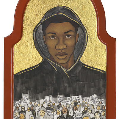 Jasmine iona brown trayvon martin icon