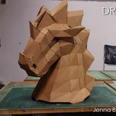 Jenna bastian dragonhorse finished