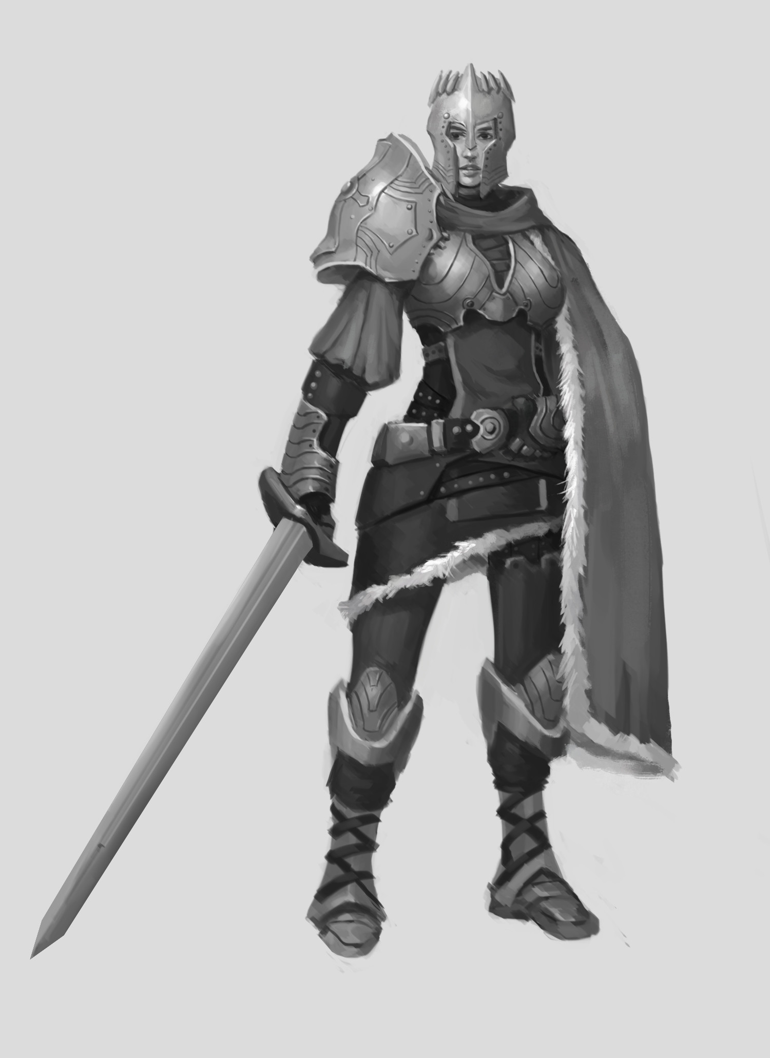 artstation armor of god mace tan
