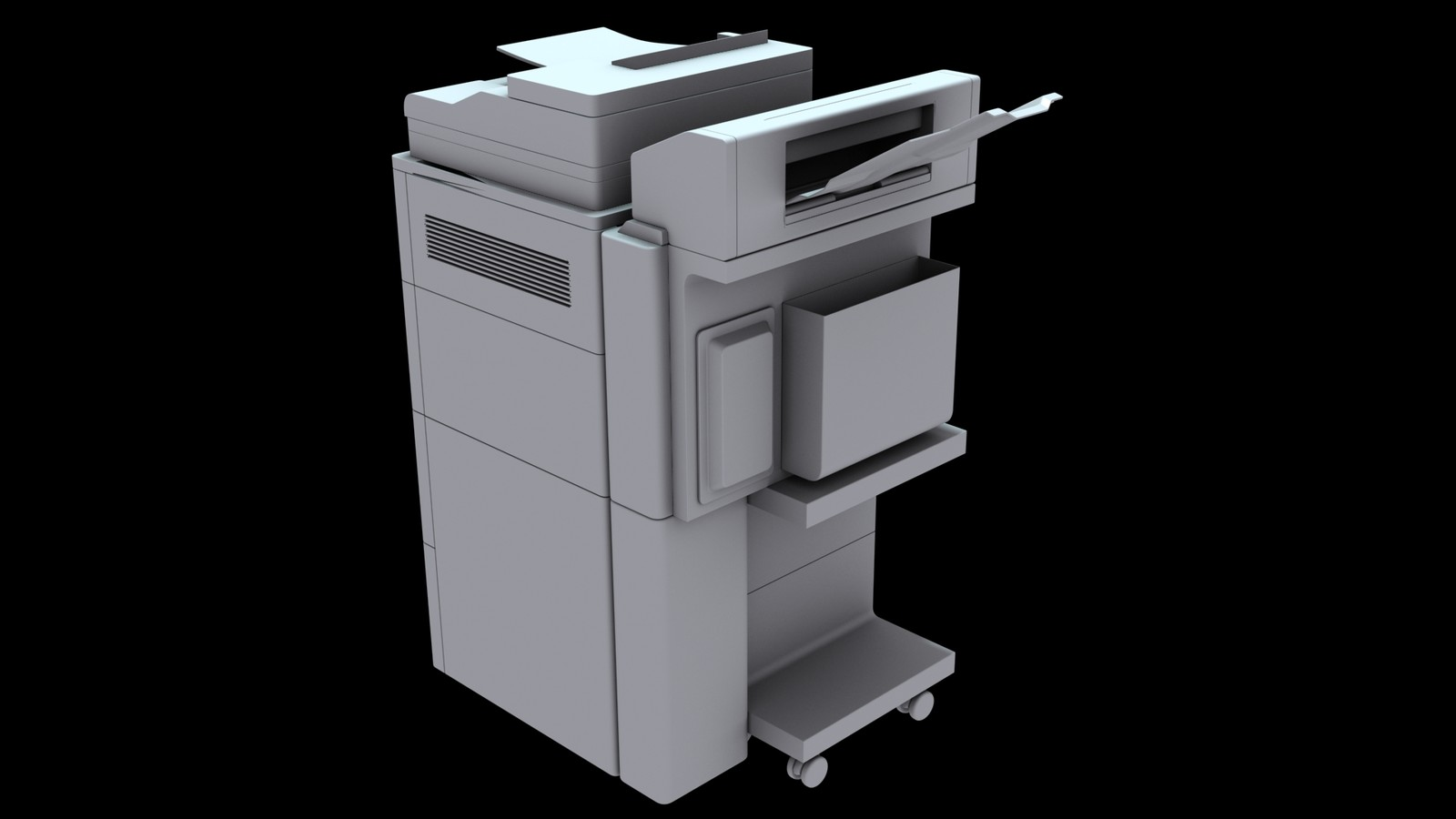 Photocopier Machine 14 [hight poly]