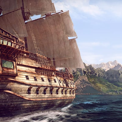 Pirateship island discover