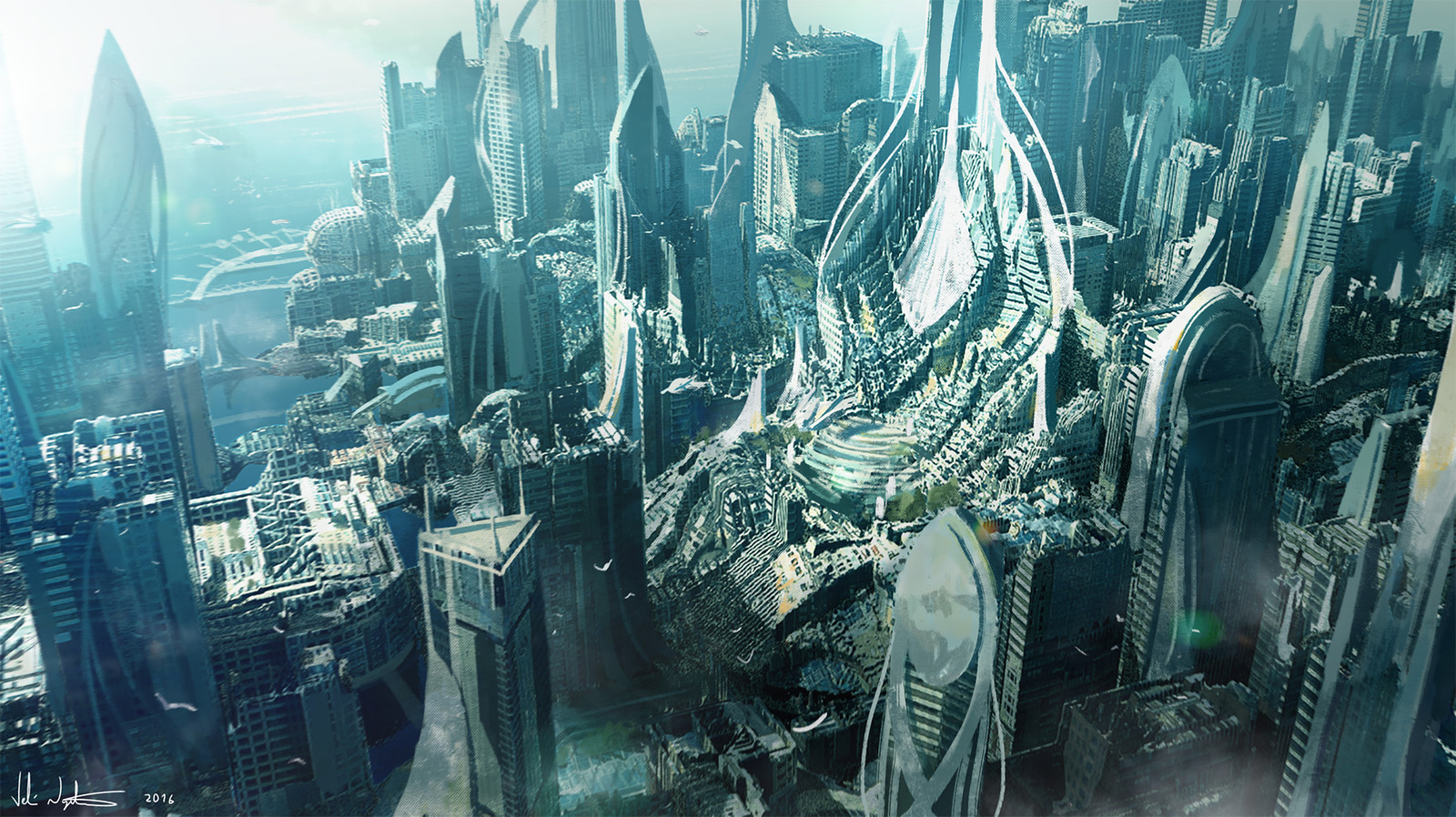 Scifi City 2