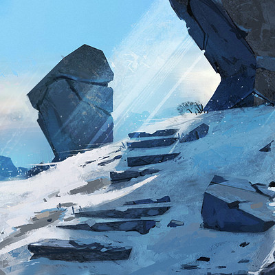 Tim kaminski snow scene