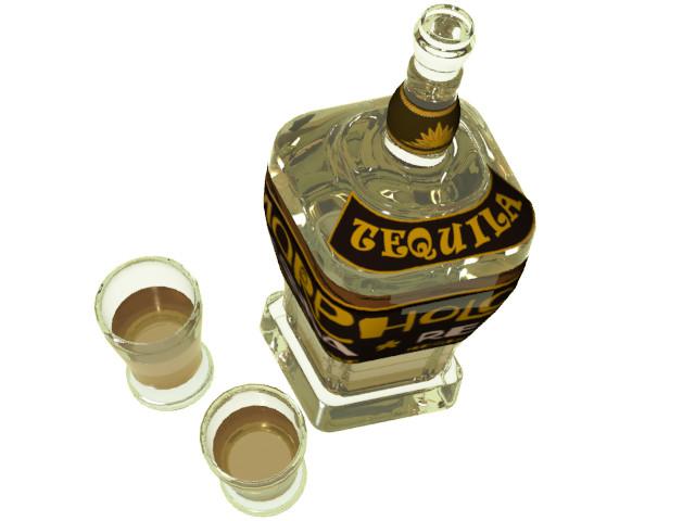 Petar doychev tequila botle